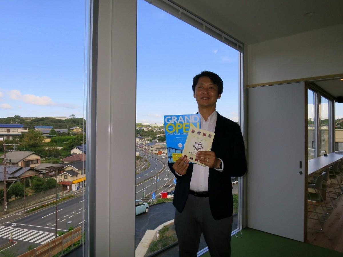 「はやしまブランディングプロジェクト」の佐藤勝司さん
