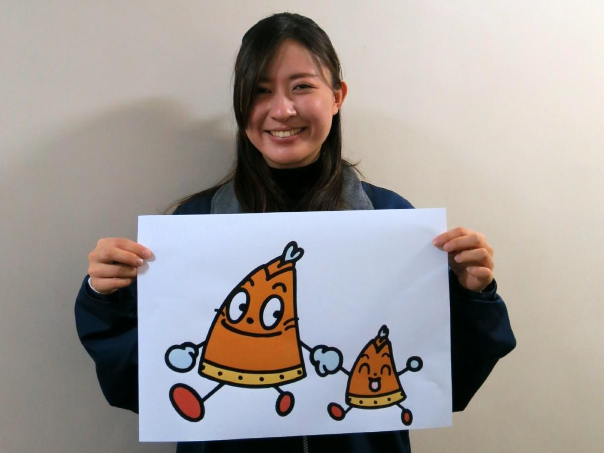スタンプ企画を担当した「倉敷観光コンベンションビューロー」の池田みこさん