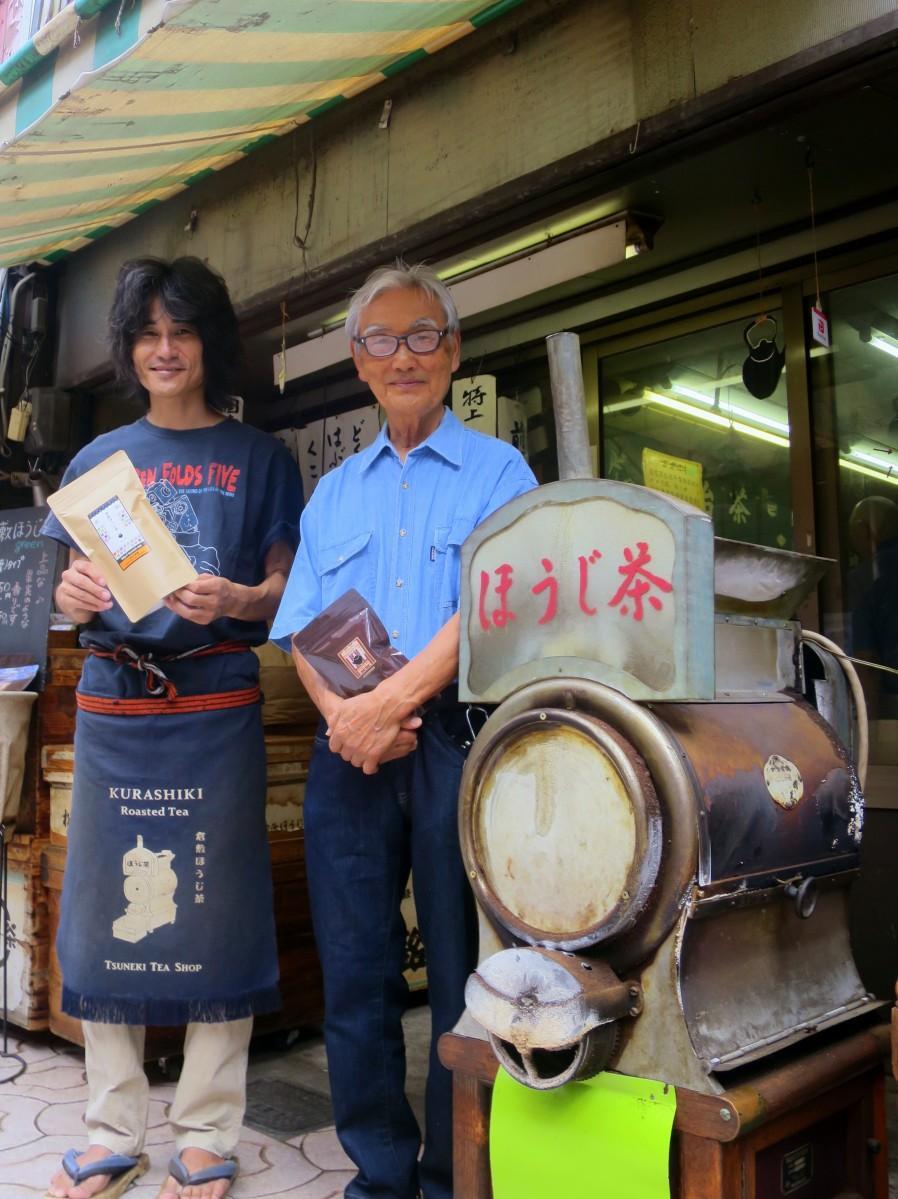 ファインプロダクト賞を受賞した恒枝信三さん(左)と父の信雄さん(右)