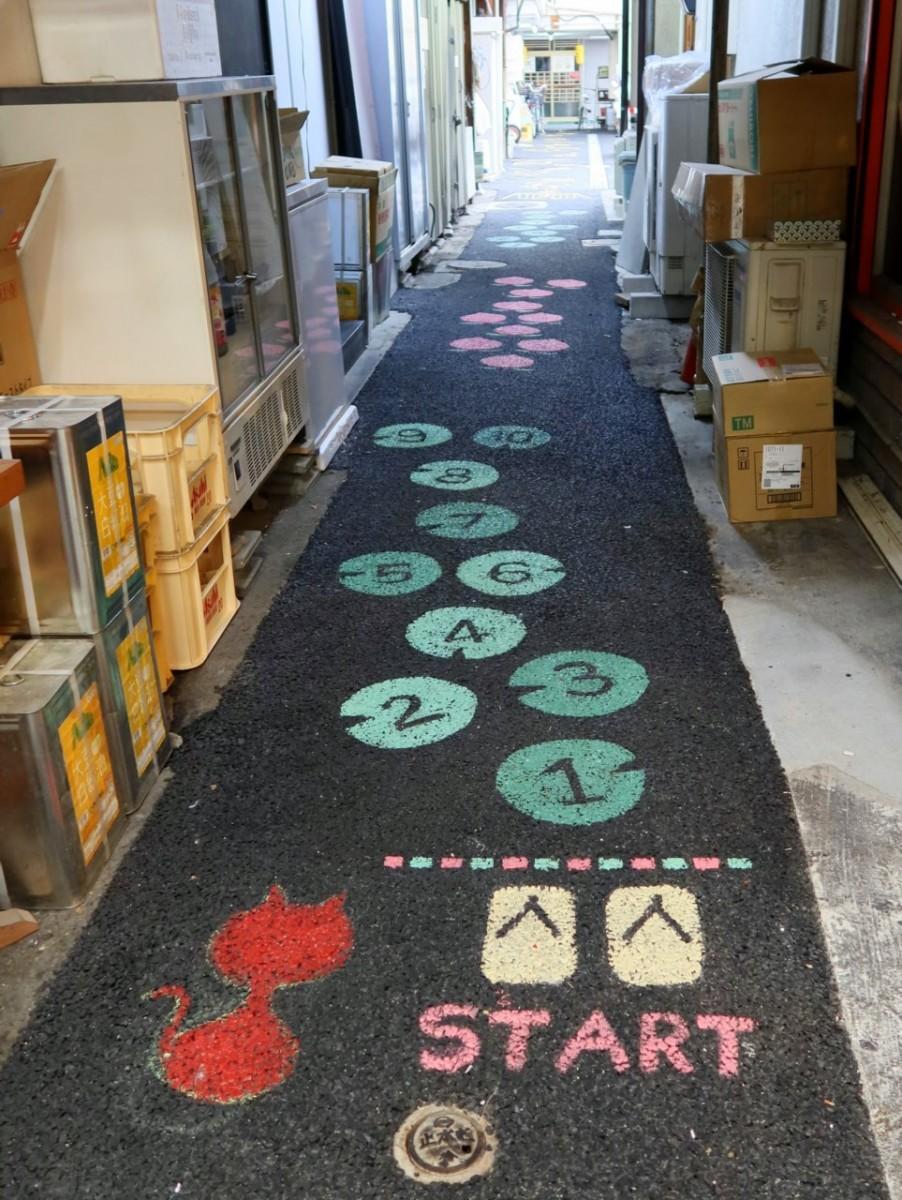 「倉敷ケンパ通り」入り口