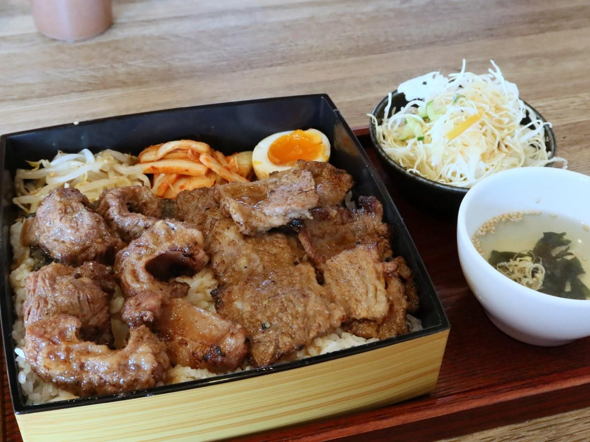 「焼肉食堂ブリスケ」のカルビ・ブリスケ定食