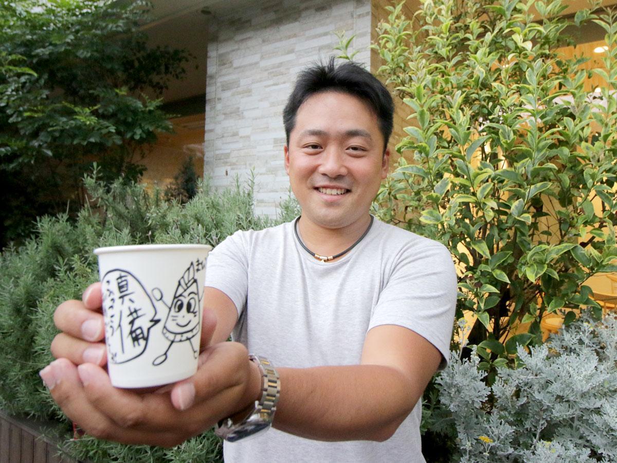 「真備復興希望プロジェクト」代表の平野将さん