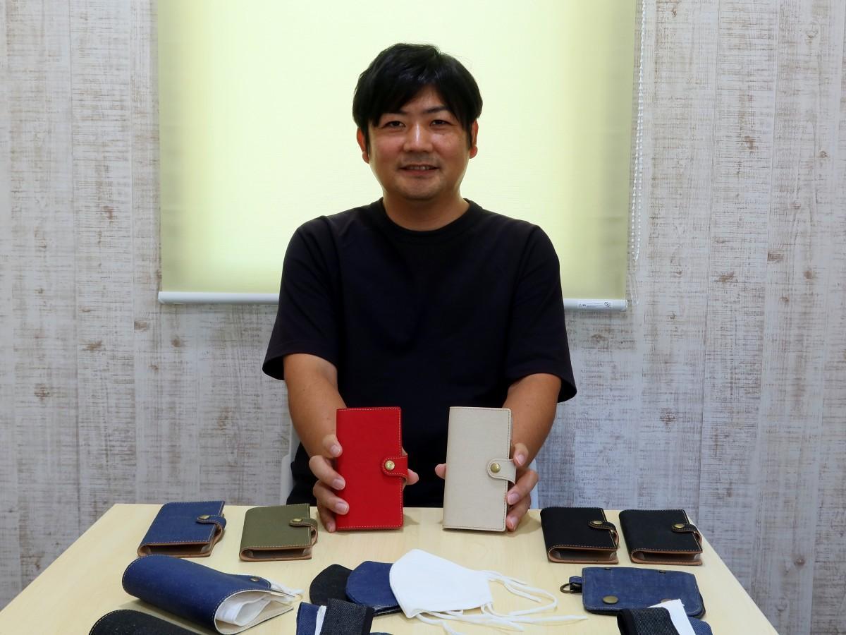 ブランド「MIGO BROOM」を展開する小野祐司さん