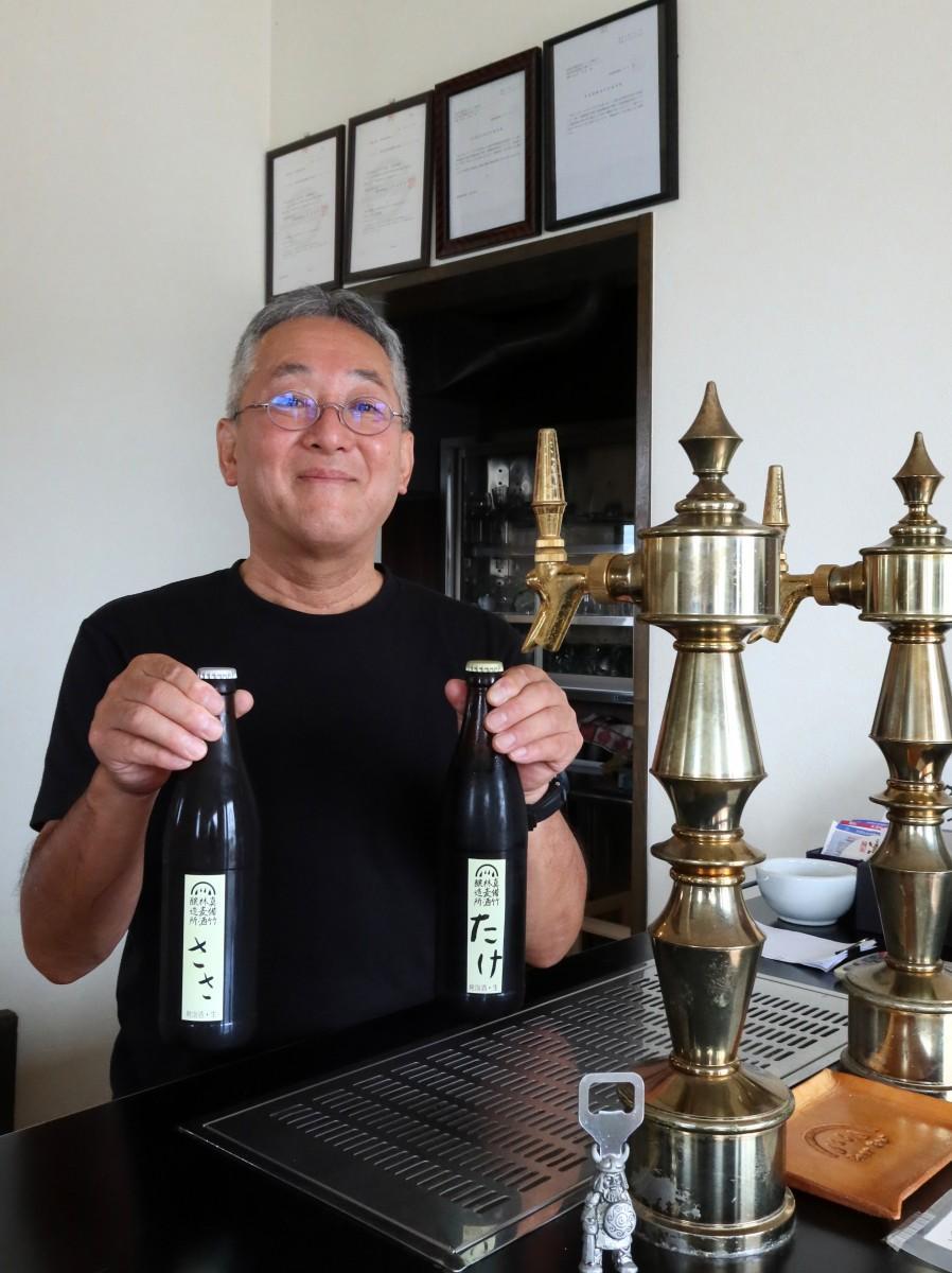 真備竹林麦酒醸造所の多田伸志さん