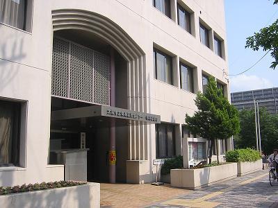 大阪市立都島図書館。会場は下の階の都島区民センター