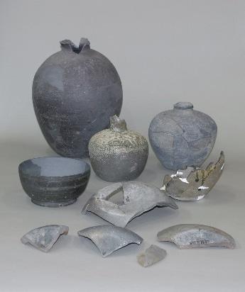 難波にもたらされた百済土器 古墳時代後期から飛鳥時代 大阪文化財研究所保管