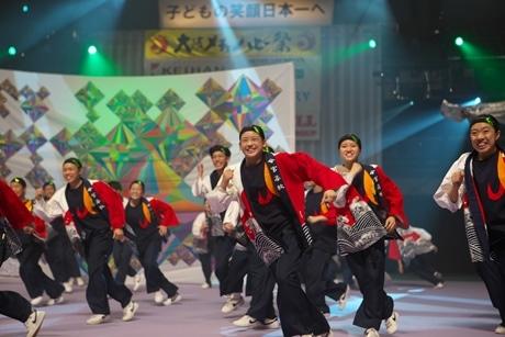 大阪城ホールで踊りの祭典「メチャハピー祭」 感動は一生の宝物