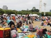 大阪城公園でごみ減量フェス 昨年は1万人が参加