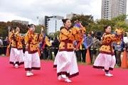 なにわの宮跡で「四天王寺ワッソ」 古代東アジアとの国際交流を再現した祭り