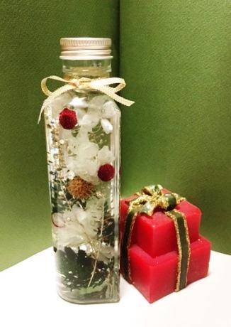 京阪モールでクリスマス用ハーバリウム手作り体験 京橋で初開催へ