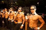 京橋で「イケメンマッチョ集団」による女性限定イベント