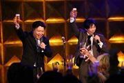 京橋で8時間半ぶっ通しライブ 漫才・書道家・ダンス・津軽三味線など12組出演
