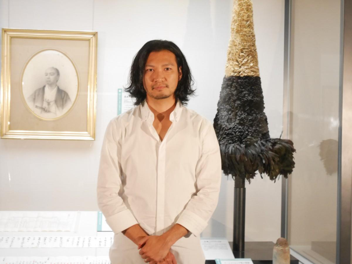 NHK大河ドラマ「西郷どん」で島津久光役を演じる青木崇高さん