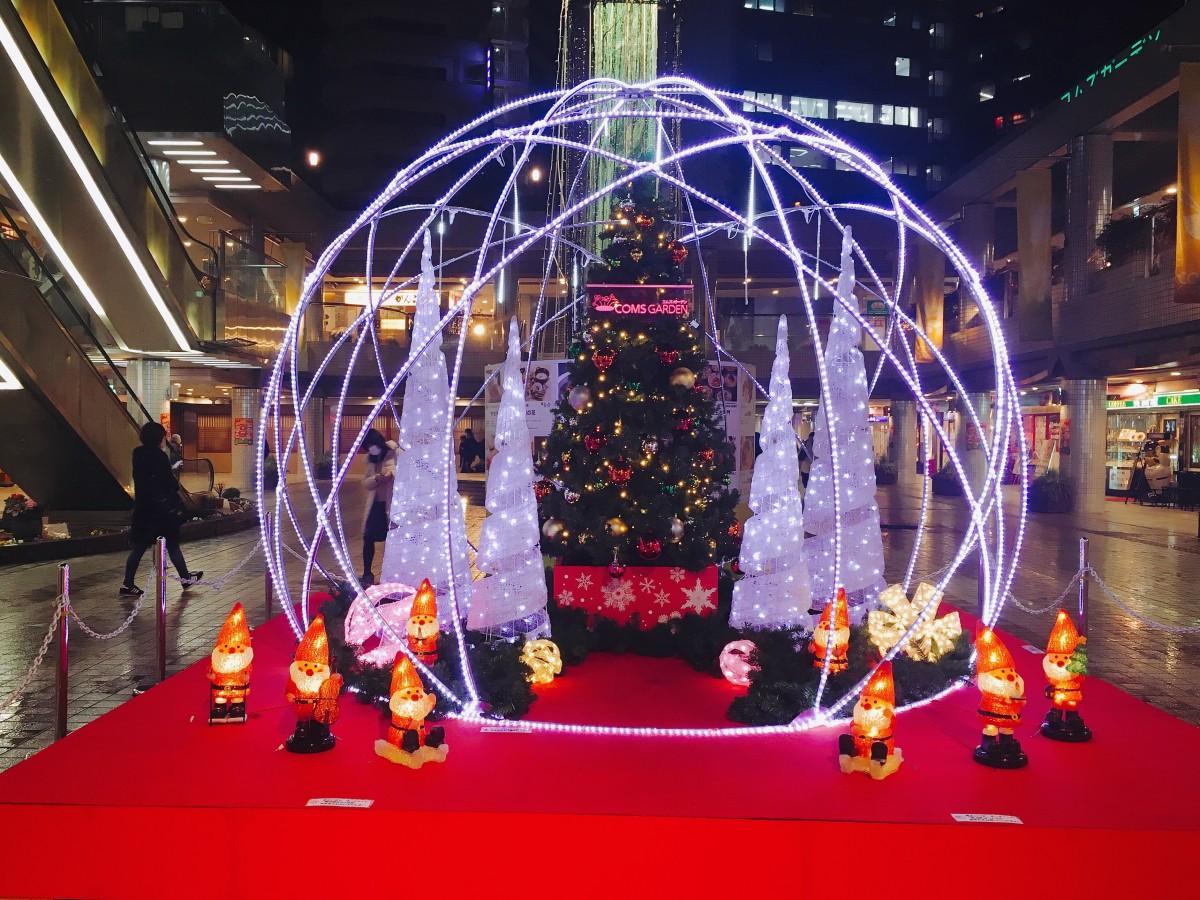 「クリスマスイルミネーション」