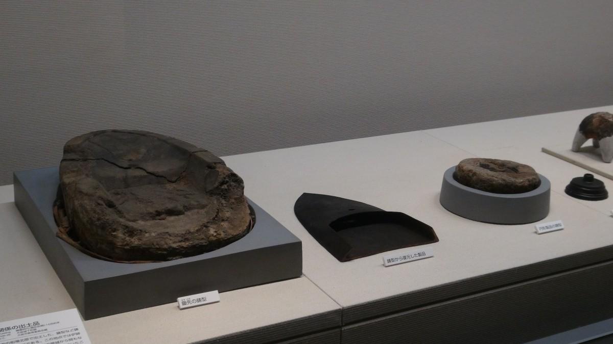 鋳造関係遺物(大阪歴史博物館 所蔵)
