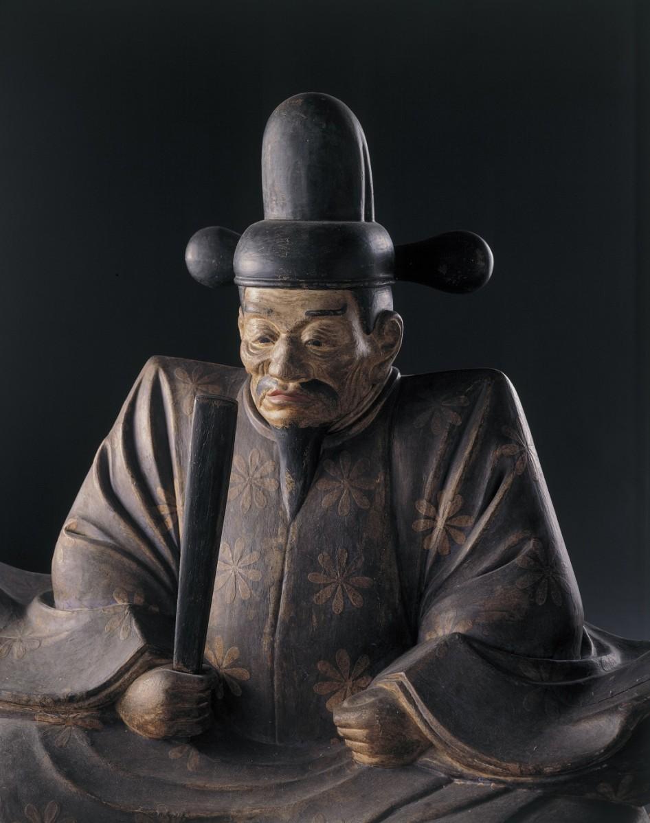 豊臣秀吉木像(大阪城天守閣蔵)