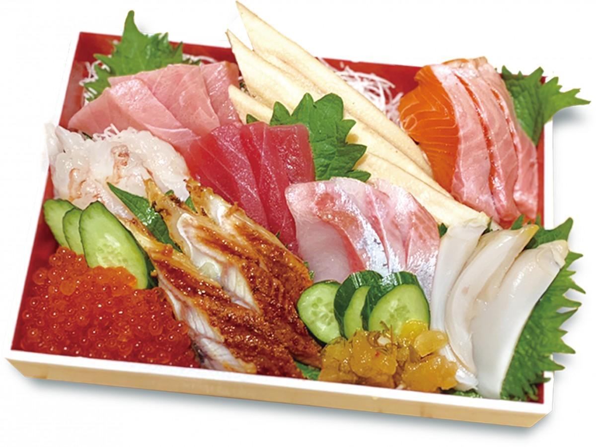 中トロやウナギなどが入った「手巻き寿司セット・特上」