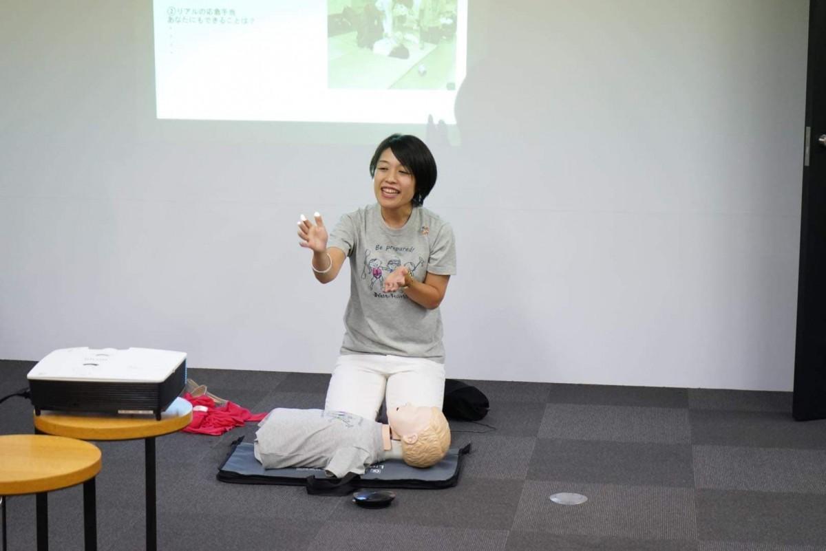 「救急の日」(9月9日)にOBPで開催