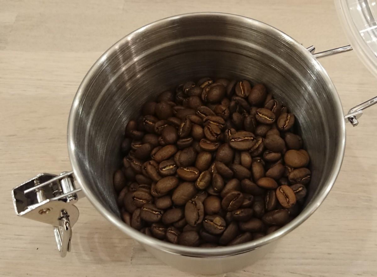 コロンビアのエルパライソ農園の豆(100グラム1,100円)