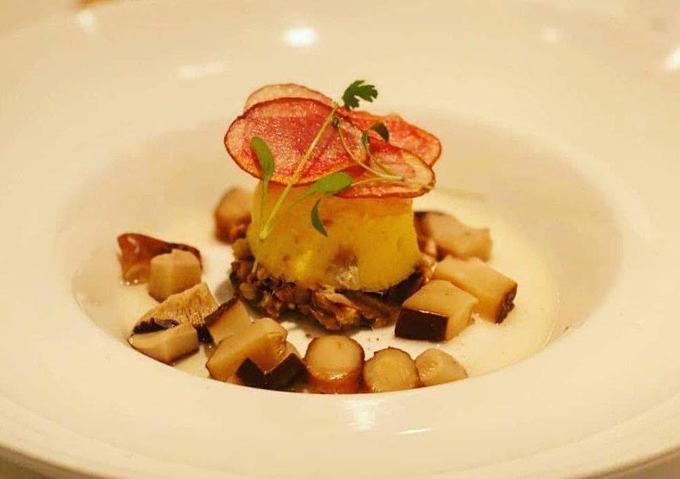 「リゴレッティーノ」の前菜例