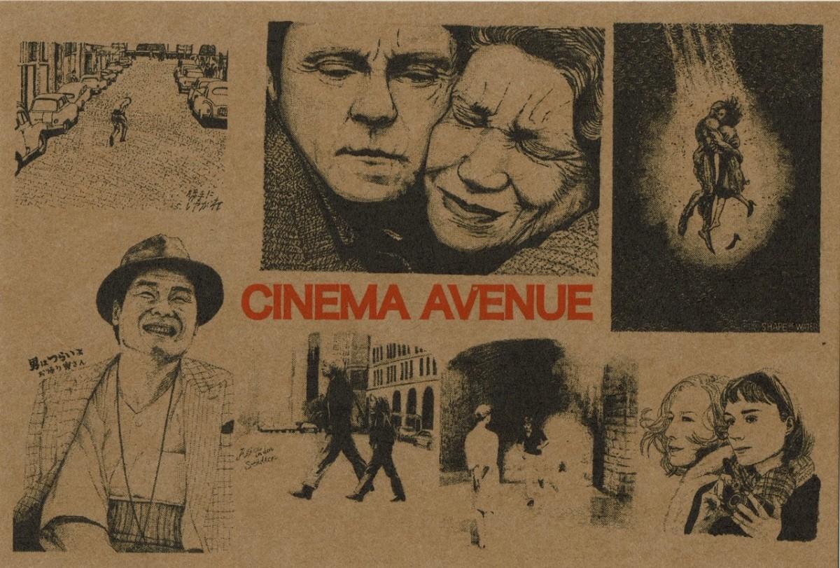 「CINEMA AVENUE 原画展」ポストカード