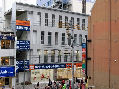 ブックオフスーパーバザー町田中央通り本館の外観