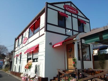 年間PV1位「溶岩釜焼きピザのカフェレストラン」外観