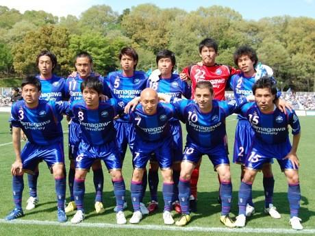 試合に臨むFC町田ゼルビアの選手