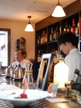 スイーツカフェ「Prima」店内。