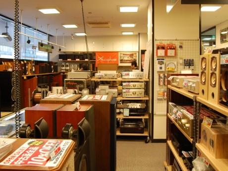 新設のオーディオユニオン町田店