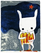 版画美術館で町田ゆかりの作家展-赤瀬川原平ほか若手作家も紹介