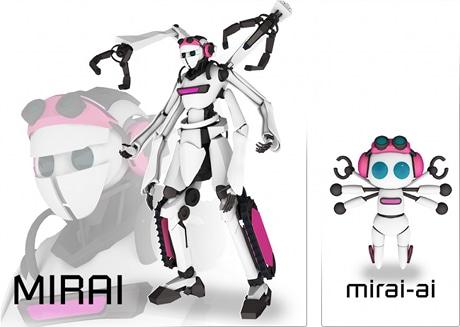 ロボカップジャパンオープン2013東京公式キャラクター。玉川大学芸術学部メディア・アーツ学科3年の勝山侃洋さんがデザインした。
