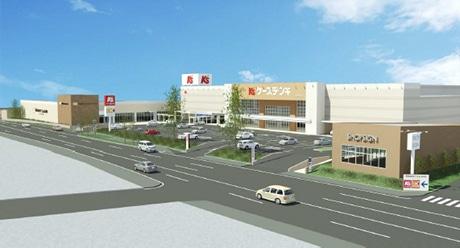 相模原・国道129号沿いに大型商業施設-ケーズデンキなど出店 ...