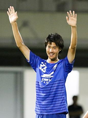 移籍後初ゴールを決めた森村昂太