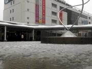 町田駅周辺で積雪 横浜線の運転見合わせで大混雑も