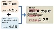 1枚の定期券で大手町と新宿へ 小田急電鉄「二区間定期券」発売
