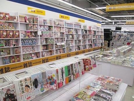 アニメイト町田、新店舗の店内