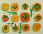 町田で「生き物」版画展 町田産の染料を用いた作品も