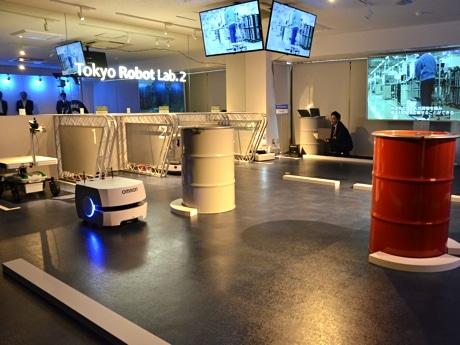 Tokyo Robot Lab.2の走行デモンストレーションエリア