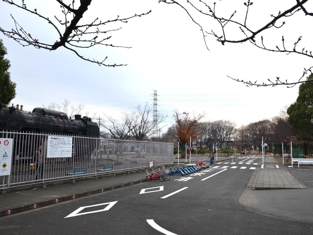 「複合施設」建設が予定される鹿沼公園内の交通公園