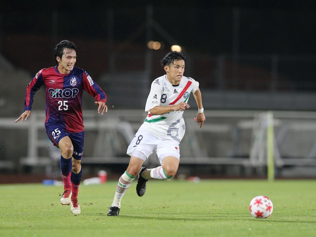鹿島アントラーズから期限付きで移籍したMF平戸太貴選手。2回戦の延長後半に決勝ゴールを決めた。 ©FC町田ゼルビア