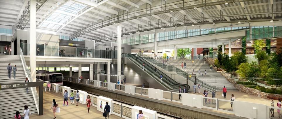 南町田グランベリーパーク駅のイメージ