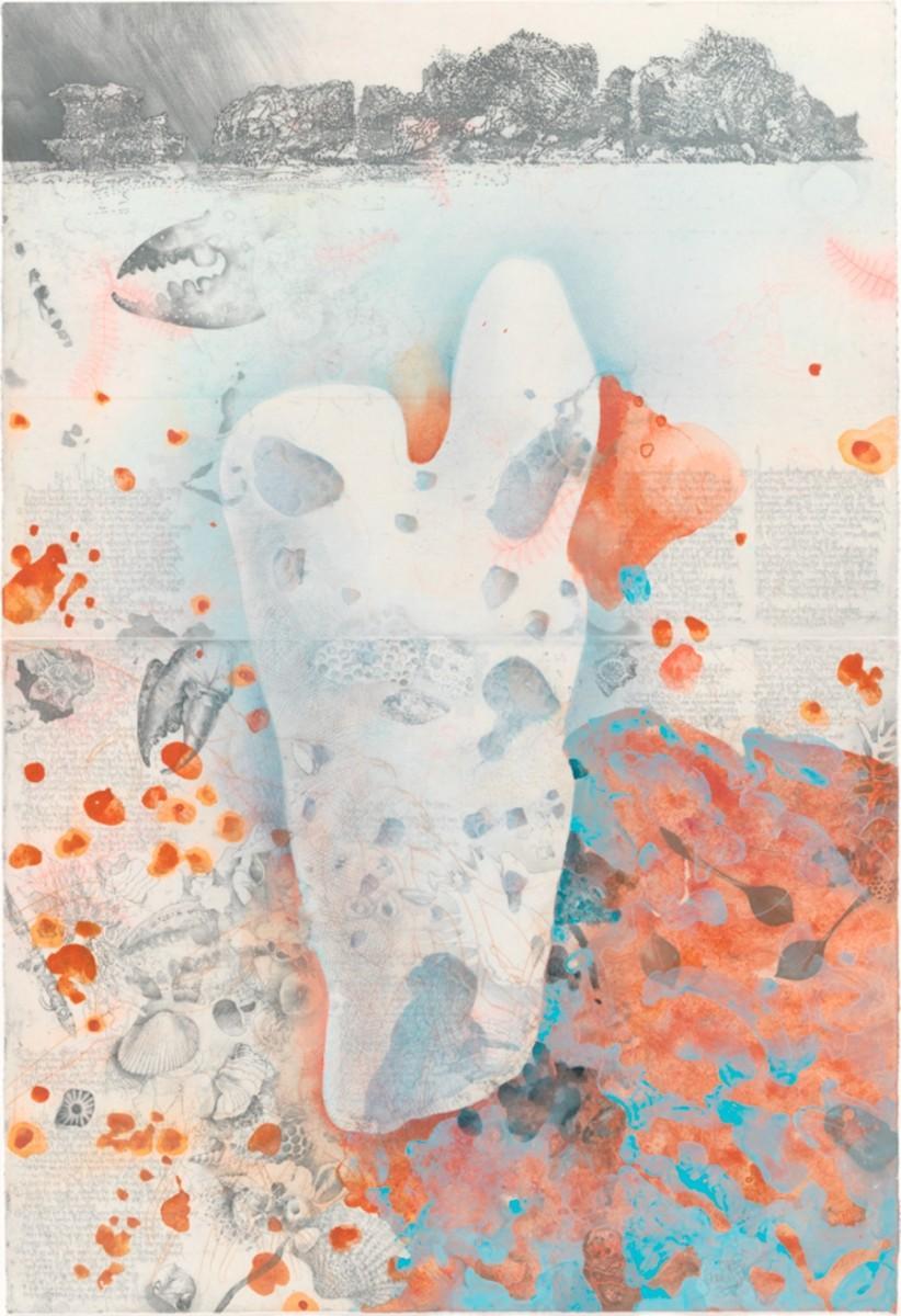 ヨルク・シュマイサー「イルパラ海岸で拾ったかけら」2011年、個人蔵