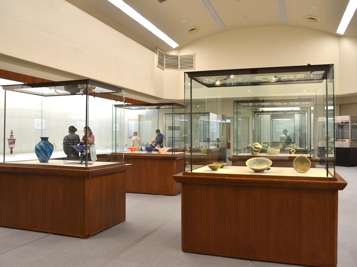 町田市立博物館の展示室