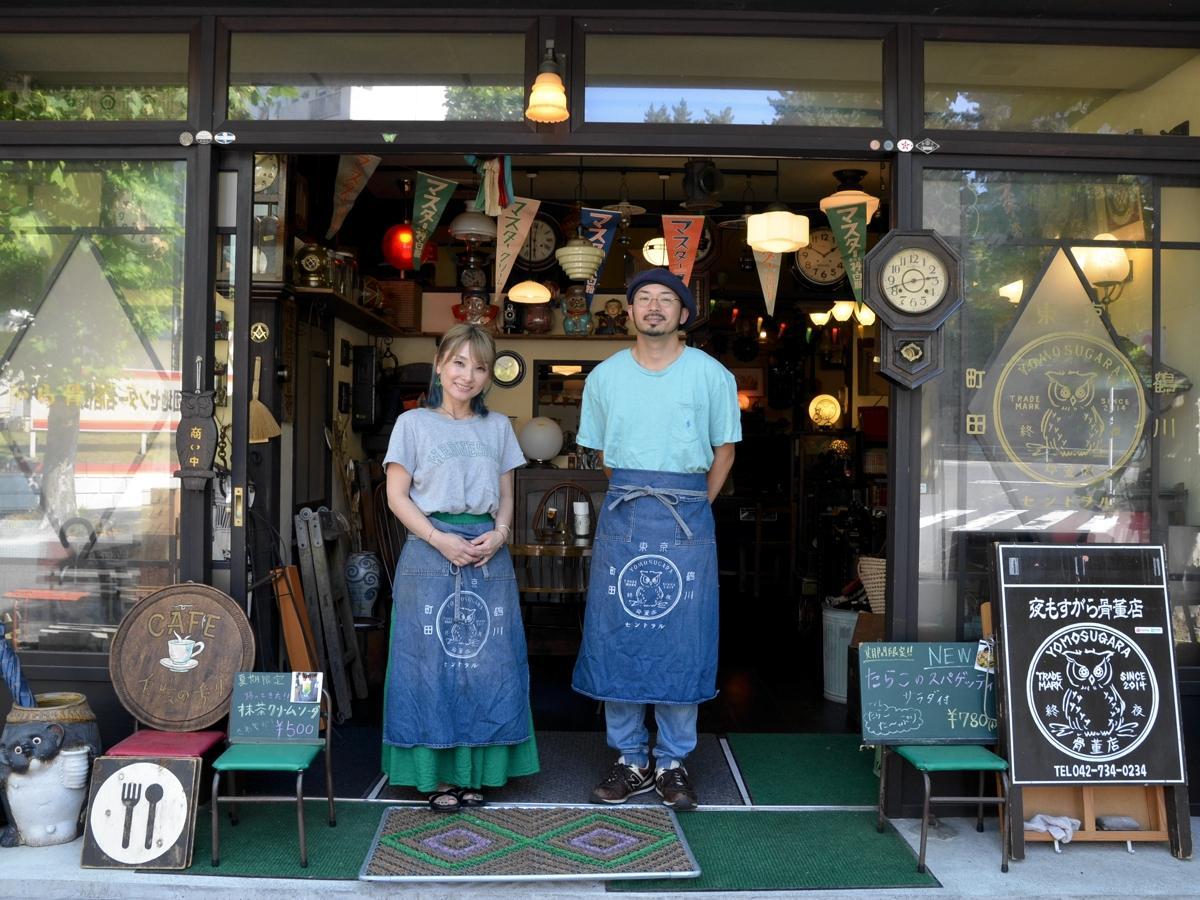 店主の加藤翔太さんと恵里子さん