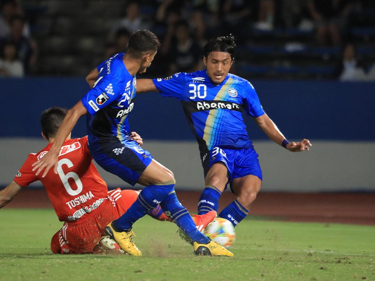 逆転ゴールを決めた中島選手 ©FC町田ゼルビア