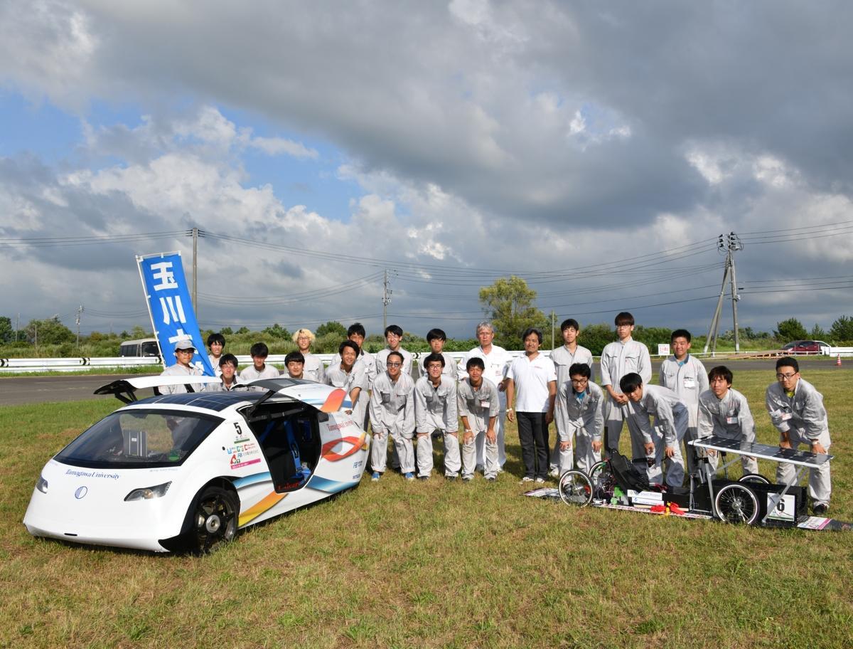 玉川大学のチーム「TSCP」