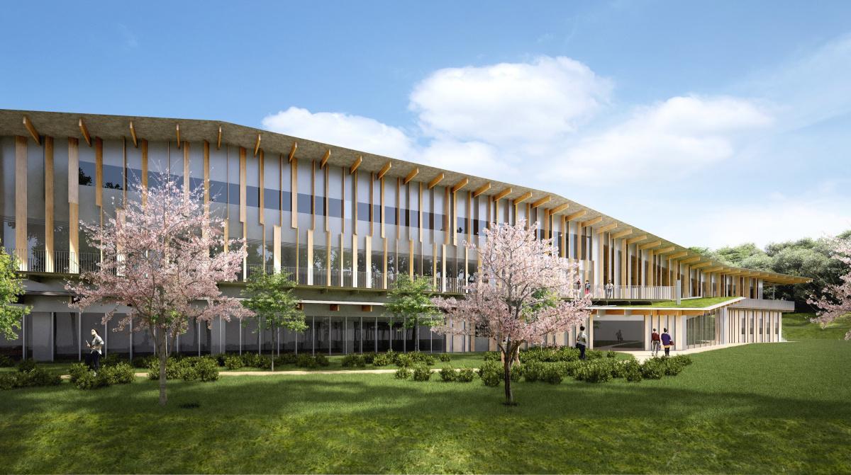 新校舎のイメージパース