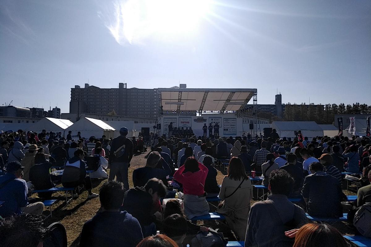 相模総合補給廠一部返還地で開催された「さがみはらフェスタ2019」