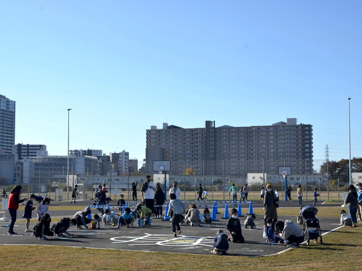 相模原スポーツ・レクリエーションパークの遊具広場